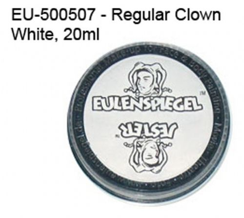 Cream Makeup White Clown 50ml Face Paint Halloween